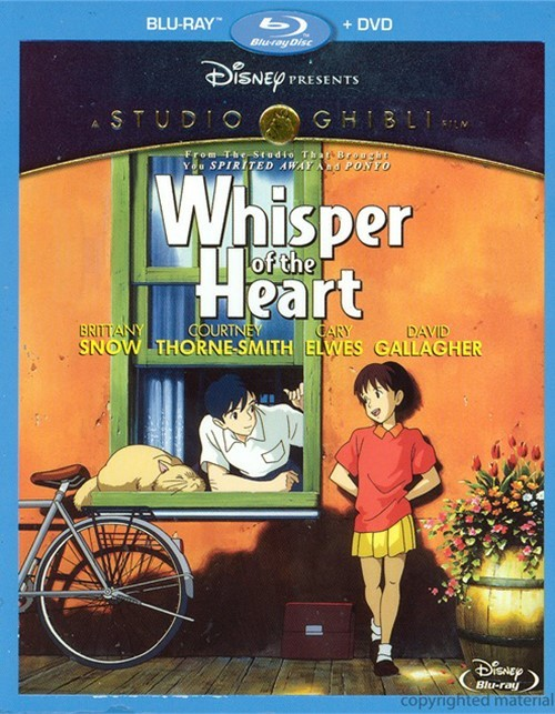 Whisper Of The Heart (Blu-ray + DVD Combo)