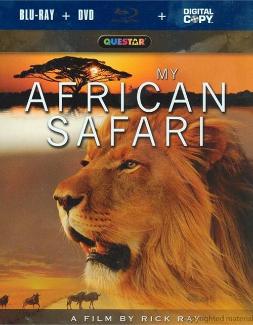 My African Safari (Blu-ray + DVD + Digital Copy)