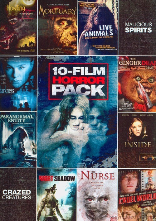 10 Film Horror Pack Vol. 1