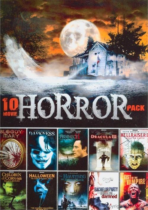 10 Movie Horror Pack Vol. 1