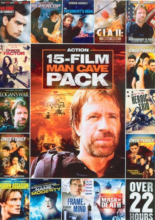 15 Movie Man Cave Action Pack Vol. 1