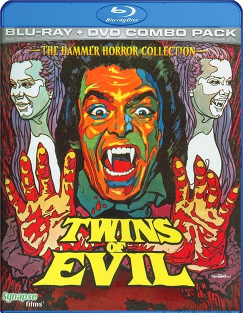 Twins Of Evil (Blu-ray + DVD Combo)