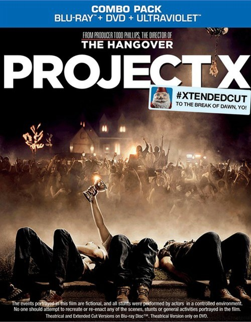 Project X (Blu-ray + DVD + UltraViolet)