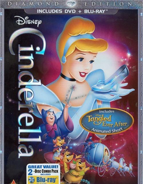 Cinderella: Diamond Edition (DVD + Blu-ray Combo)