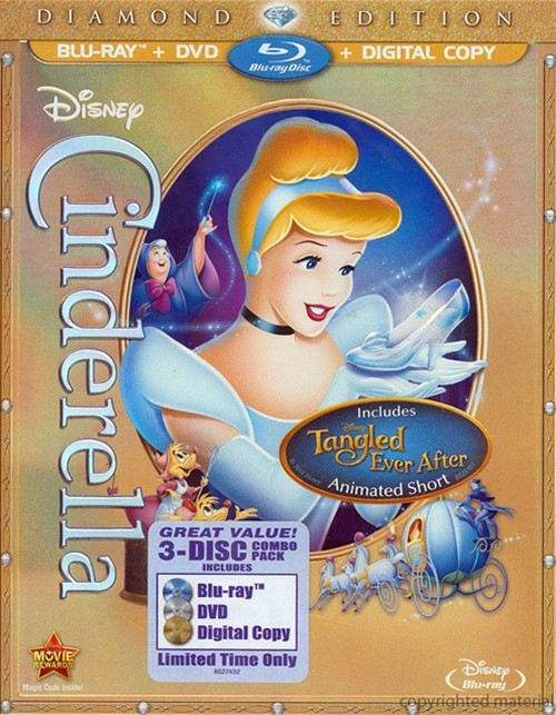 Cinderella: Diamond Edition (Blu-ray + DVD + Digital Copy)