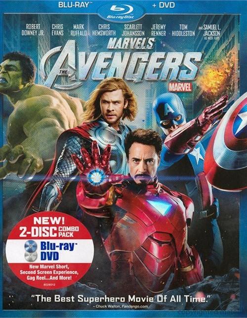 Avengers, The (Blu-ray + DVD Combo)