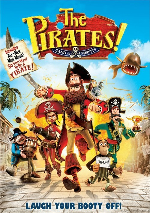 Pirates! Band Of Misfits, The (DVD + UltraViolet)