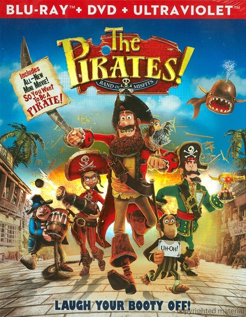 Pirates! Band Of Misfits, The (Blu-ray + DVD + UltraViolet)