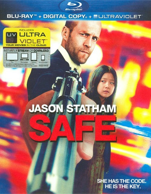 Safe (Blu-ray + Digital Copy + UltraViolet)
