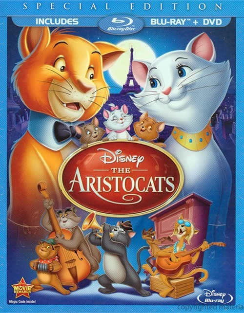 Aristocats, The (Blu-ray + DVD Combo)