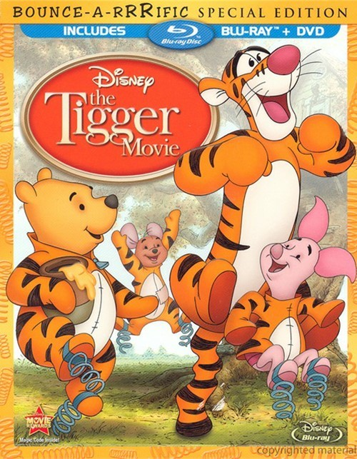 Tigger Movie, The: Bounce-A-Rrrific Special Edition (Blu-ray + DVD Combo)