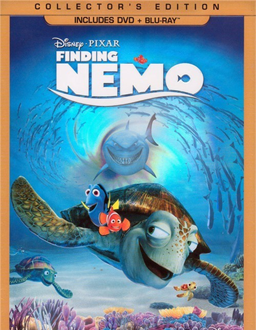 Finding Nemo: 3 Disc Collectors Edition (DVD + Blu-ray Combo)