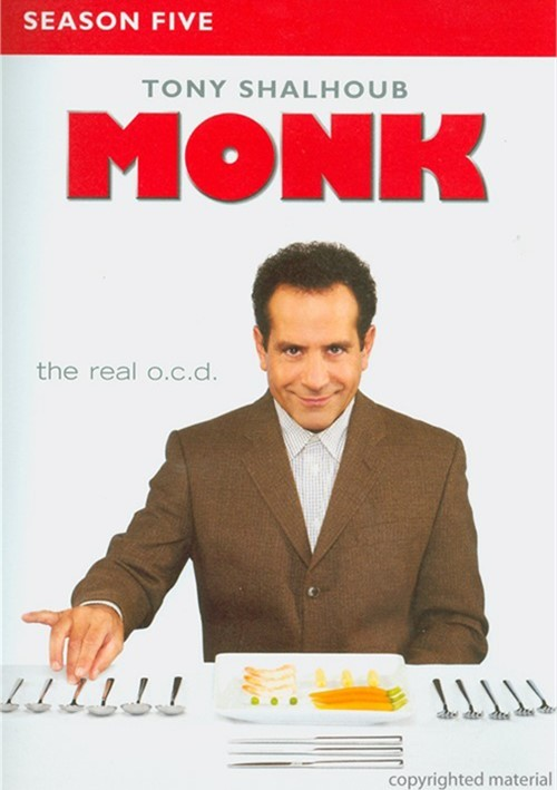 Monk: Season Five (Repackage)