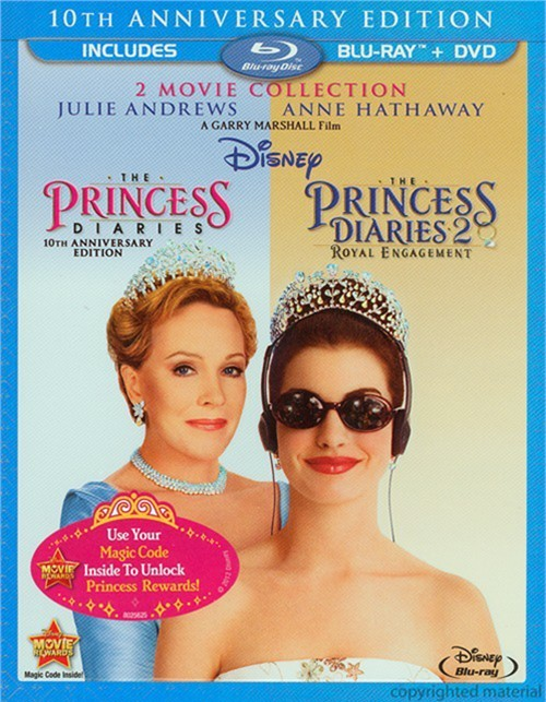 Princess Diaries, The: 10th Anniversary Edition - 2 Movie Collection (Blu-ray + DVD Combo)