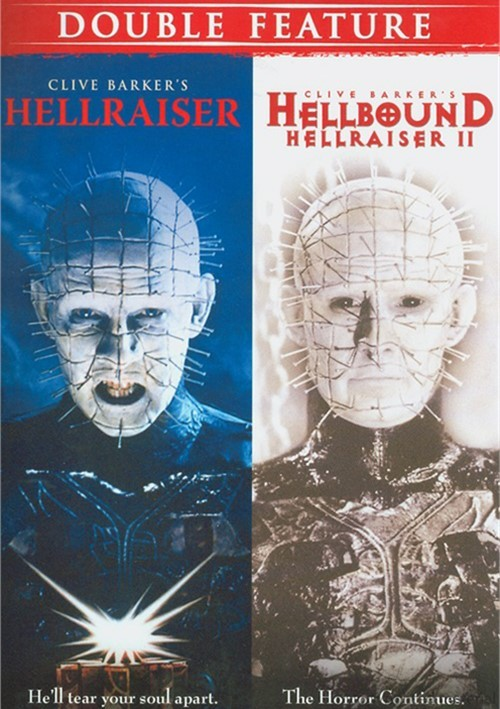 Horror Double Feature (Hellraiser / Hellbound: Hellraiser 2)