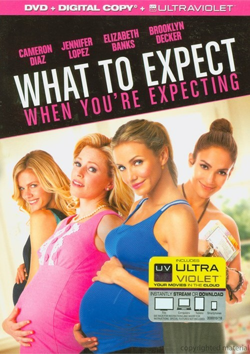 What To Expect When Youre Expecting (DVD + Digital Copy + UltraViolet)
