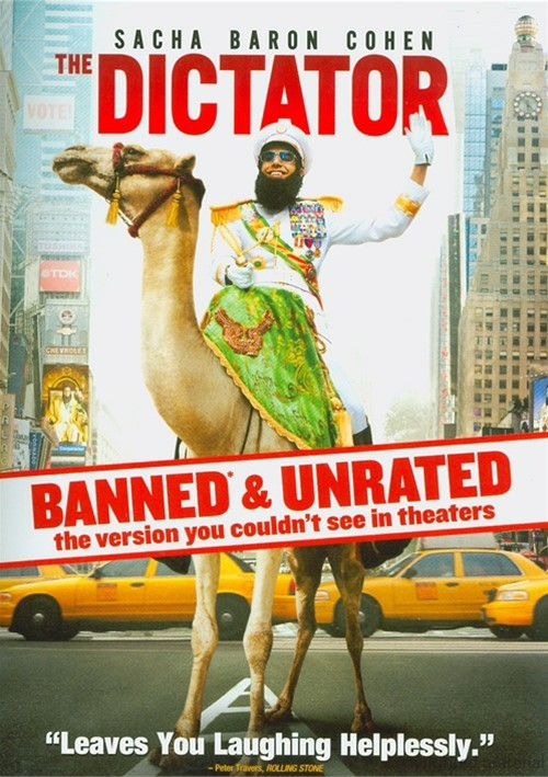 Dictator, The: Banned & Unrated Version (DVD +UltraViolet)