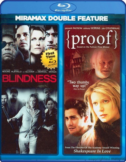 Blindness / Proof (Double Feature)