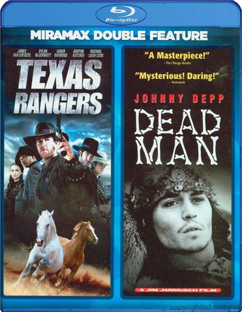 Dead Man / Texas Rangers (Double Feature)
