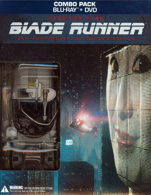 Blade Runner: 30th Anniversary Collectors Edition (Blu-ray + DVD Combo)