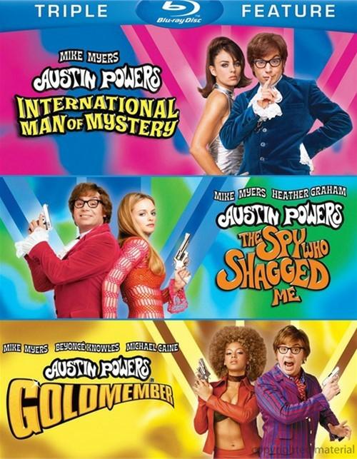 Austin Powers: International Man Of Mystery / Austin Powers: The Spy Who Shagged Me / Austin Powers: Goldmember (Triple Feature)