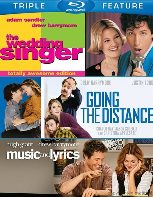 Wedding Singer, The / Going The Distance / Music And Lyrics (Triple Feature)