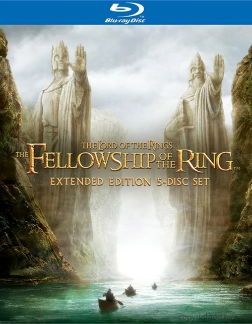 Lord Of The Rings, The: The Fellowship Of The Ring - Extended Edition (Blu-ray + UltraViolet)