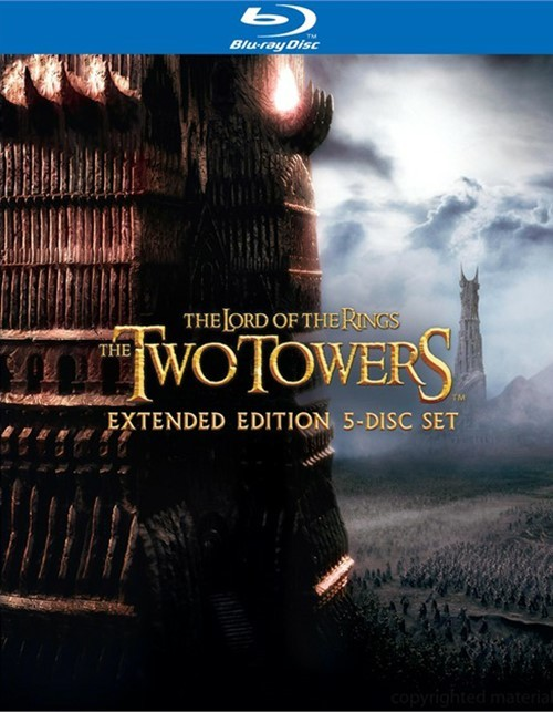 Lord Of The Rings, The: The Two Towers - Extended Edition (Blu-ray + UltraViolet)