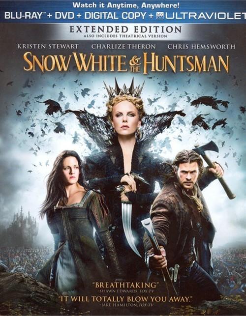 Snow White & The Huntsman (Blu-ray + DVD + Digital Copy + UltraViolet)
