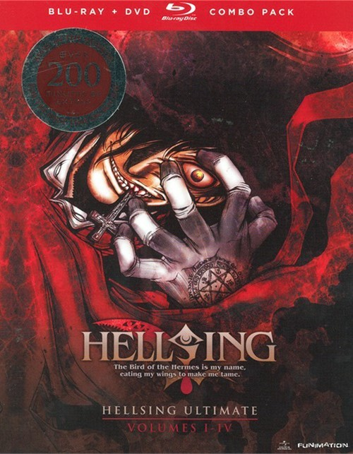 Hellsing Ultimate: Volumes 1 - 4 (Blu-ray + DVD Combo)