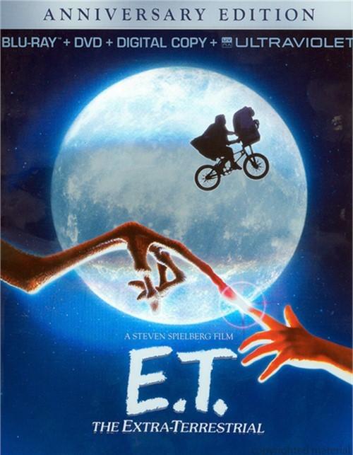 E.T. The Extra-Terrestrial: 30th Anniversary Edition (Blu-ray + DVD + Digital Copy + UltraViolet)
