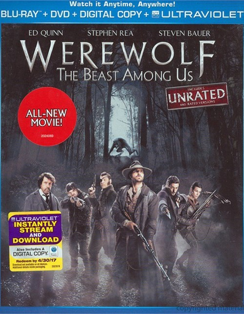 Werewolf: The Beast Among Us (Blu-ray + DVD + Digital Copy + UltraViolet)