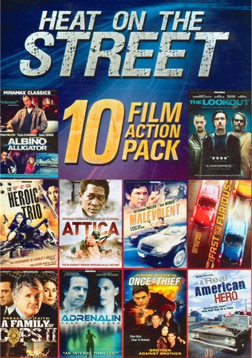 10 Film Collection: Heat On The Street
