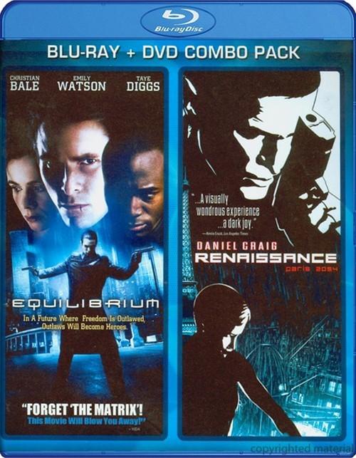 Renaissance / Equilibrium: Double Feature (Blu-ray + DVD Combo)