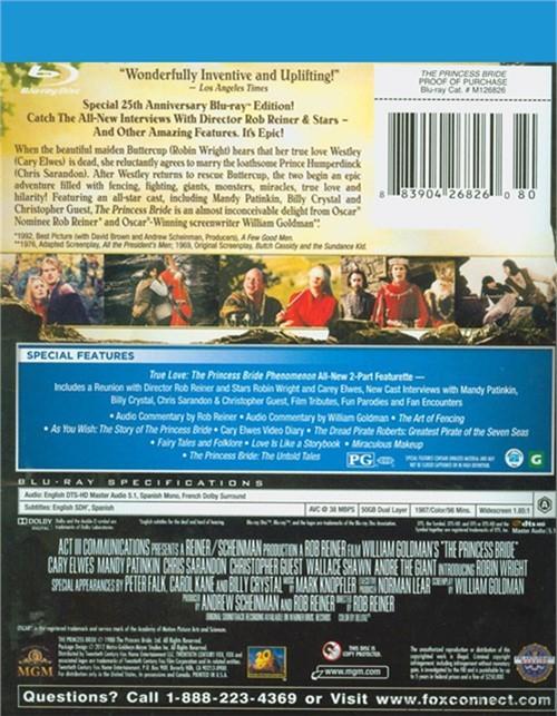 Princess Bride, The: The 25th Anniversary Edition (Blu-ray