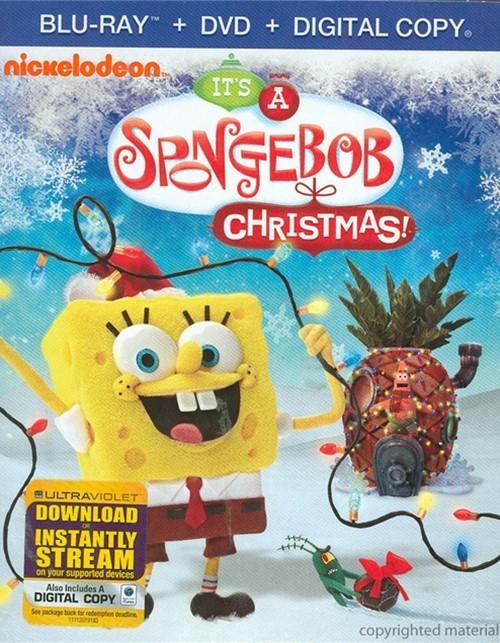 SpongeBob SquarePants: Its A SpongeBob Christmas! (Blu-ray + DVD + Digital Copy)