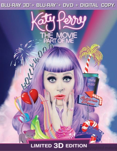 Katy Perry: The Movie - Part Of Me 3D (Blu-ray 3D + Blu-ray + DVD + Digital Copy + UltraViolet)