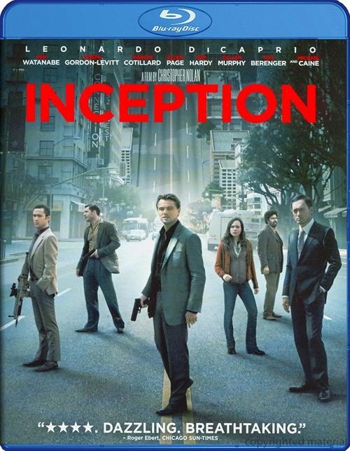 Inception (Blu-ray + DVD + UltraViolet)