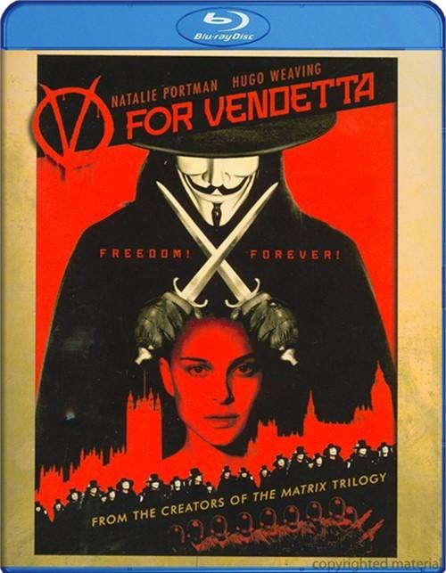 V For Vendetta (Blu-ray + UltraViolet)