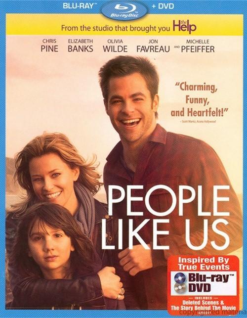 People Like Us (Blu-ray + DVD Combo)