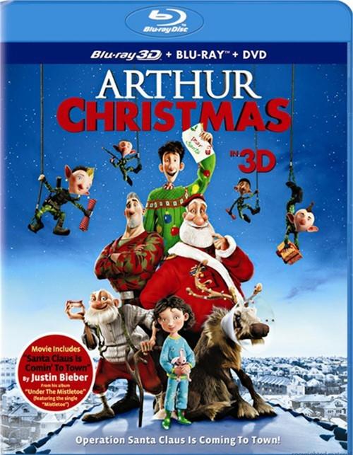 Arthur Christmas 3D (Blu-ray 3D + Blu-ray + DVD + UltraViolet)