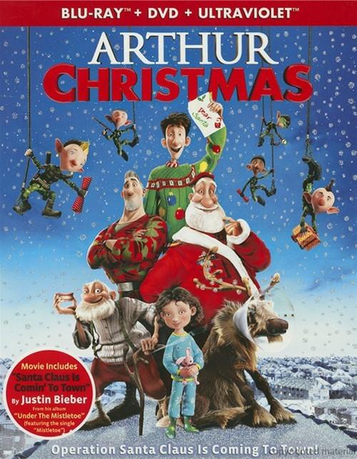 Arthur Christmas (Blu-ray + DVD + UltraViolet)