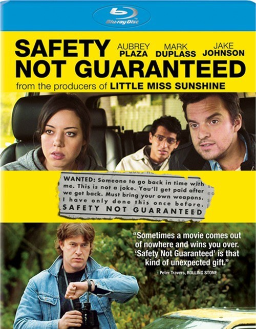 Safety Not Guaranteed (Blu-ray + UltraViolet)
