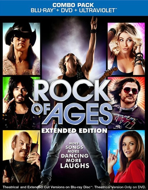 Rock Of Ages: Extended Cut (Blu-ray + DVD + UltraViolet)