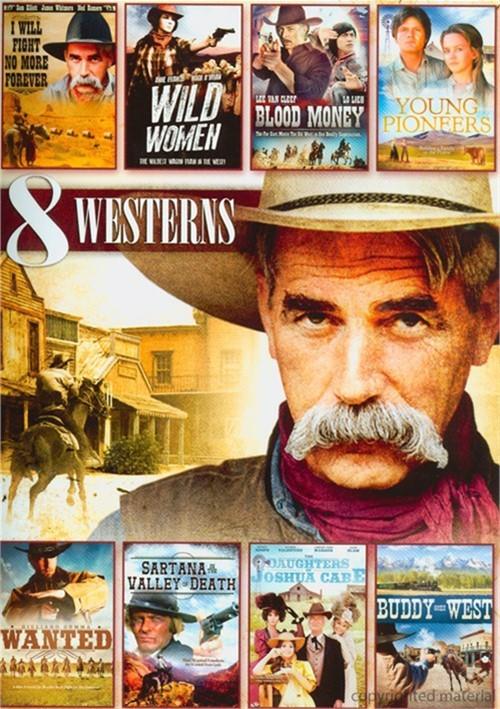 8 Movie Western Pack: Volume 4