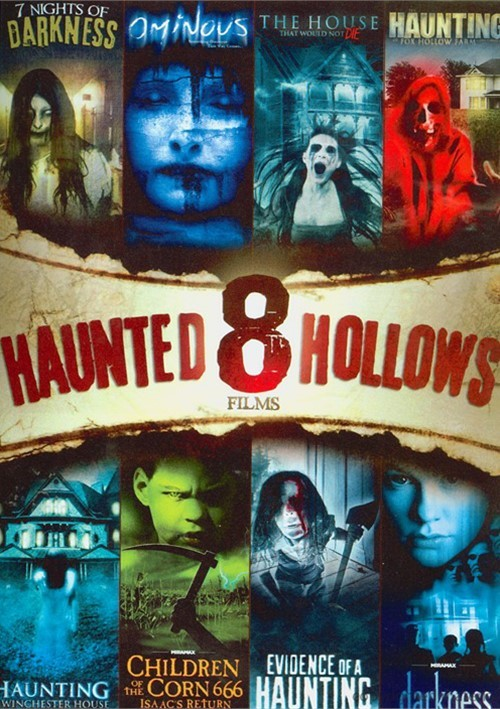 8 Film Collection Haunted Hallows