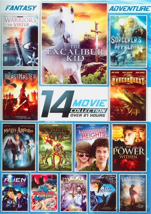 14 Film Collection: Fantasy And Adventure