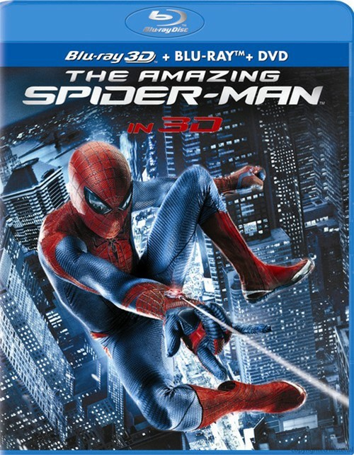 Amazing Spider-Man 3D, The (Blu-ray 3D + Blu-ray + DVD + Ultraviolet)