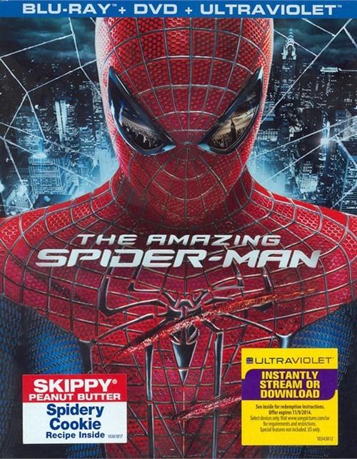 Amazing Spider-Man, The (Blu-ray + DVD + UltraViolet)
