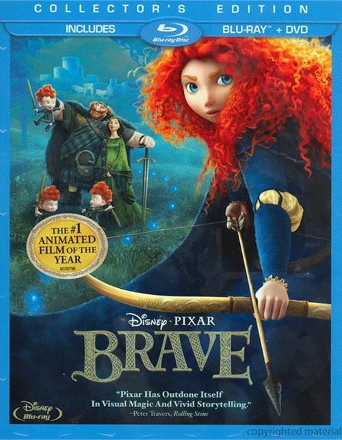 Brave (Blu-ray + DVD Combo)